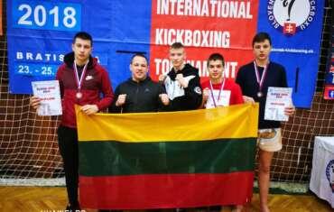 Slovak open 2018 iškovoti 3 medaliai