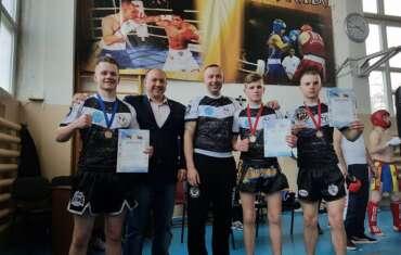 Atvirame Moldovos Respublikos kikbokso čempionate iškovoti 3 medaliai