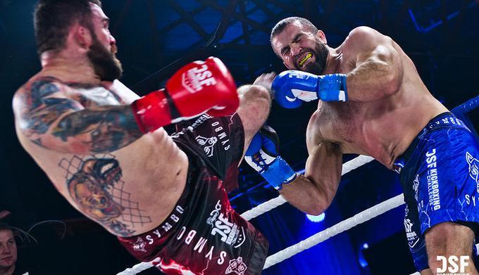 DSF kickboxing challenge vadovo vizitas