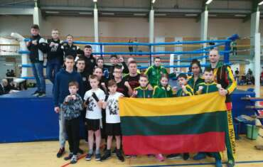 Iš Atviro Latvijos kikbokso čempionato sugrįžome su 22 medaliais