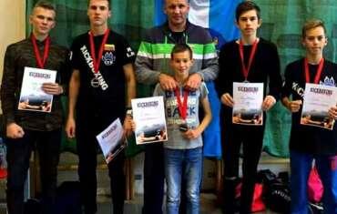 Iš Ventspilio visi Lietuvos kikboksingo sportininkai sugrįžo su medaliais