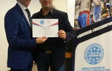 Išrinktas naujas WAKO organizacijos prezidentas