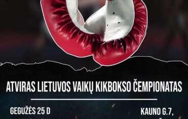 Atviras vaikų kikbokso čempionatas